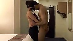 Indian couple sex in a hotel privacy invaded - realindiansexscandals.com