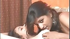 Amazing indian teen licking tits fucking wet desi pussy